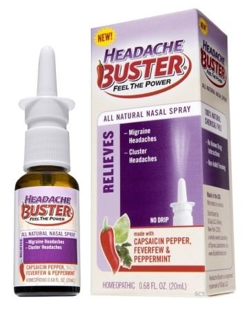 Headache Buster - .68 oz - Nasal Spray