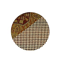 RHF Non-Slip Area Rug Pad Round 8 Ft - Protect Floors While Securing Rug and Making Vacuuming Easier Round 8