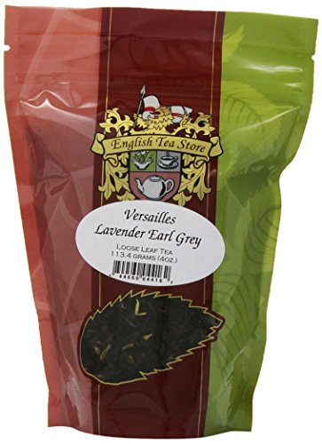 English Tea Store Loose Leaf, Versailles Lavender Earl Grey Tea, 4 Ounce