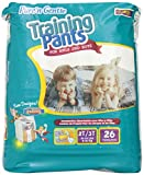 Pure 'n Gentle Training Pants for Girls & Boys, 2T-3T, Medium Size, 18-34 Pounds, 26 Count Pack Bag (Pack of 4)