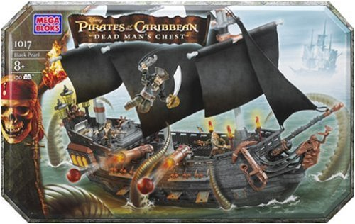 Mega Bloks 1017-Pirates of the Caribbean Black Pearl online bestellen