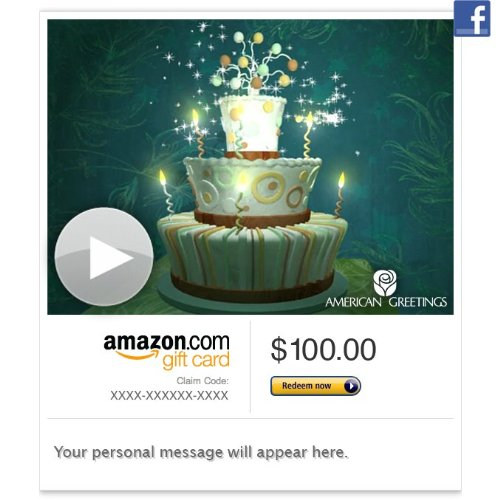 Birthday Gift Cards Best Sellers Amazon Gift Card Facebook A
