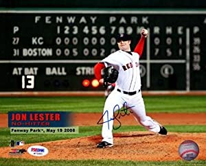 John Lester Autographed Signed 8x10 Photo Red Sox Id #60631 - PSA DNA Certified -... by Sports+Memorabilia