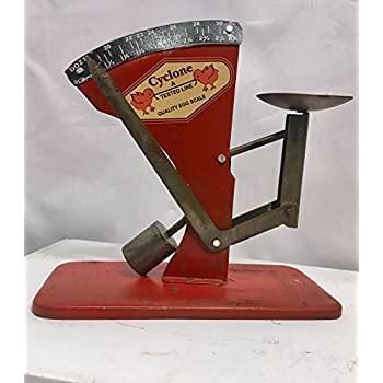Egg Scale Poultry Antique Style Cyclone Hen Chicken Sizer Primitive #537
