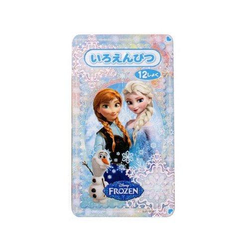 サンスター文具 アナと雪の女王 色鉛筆12色  S5010462