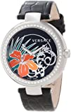 Versace Womens I9Q91D9HI S009 Mystique Stainless Steel Black