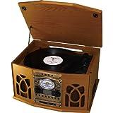 オークセール Dioconnect CD-R録音機能搭載 レコードオーディオシステム DRA-102C