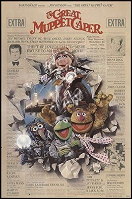 "The Great Muppet Caper 1981 ORIGINAL MOVIE POSTER Comedy Crime Family - Dimensions: 27"" x 41"""