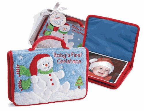 Gund Baby's First Christmas Photo Album - 1