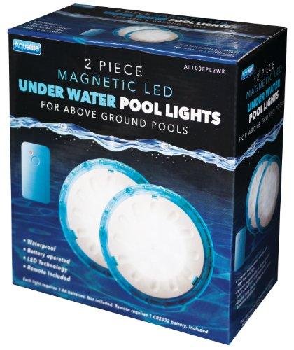 Aqualife Magnetic Waterproof Led Lights 2 Pack