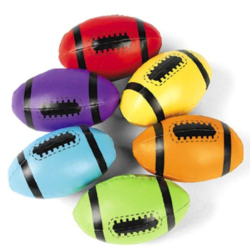 Foam Filled Footballs (1 dz) by Fun Express - 1