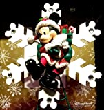 Disney Santa Mickey Mouse Christmas Tree Topper NEW