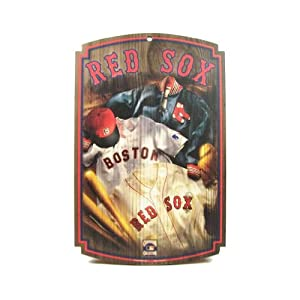 Buy WinCraft Boston Red Sox Jersey Wood Sign by WinCraft