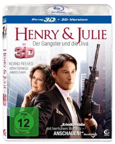 Henry & Julie - Der Gangster und die Diva [3D Blu-ray + 2D Version]