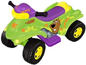 Scooby Doo 4x4 Power ATV 6 Volt Ride On with Lights and Sound - Green