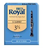 Rico Royal RBB1035 3.5 Strength Reeds for Eb Clarinet (Pack of 10)