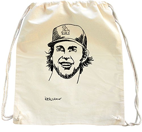 mister-merchandise-mochila-bolso-saco-clayton-kershaw-color-natural