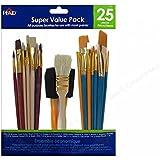 Plaid 44211 25-Piece Super Brushes, Value Pack