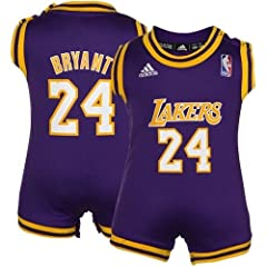 Kobe Bryant Los Angeles Lakers Purple Baby Infant NBA Basketball Jersey by adidas