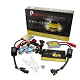 PRINOVA HID 12V 35W H1 with 8000K Driving Light Slim Conversion Kit Bulb High Low Single Beam for Most Car Brand Like HONDA NISSAN MERCEDES MAZDA JEEP LAND ROVER LEXUS JAGUAR BUICK BMW AUDI - 8000K