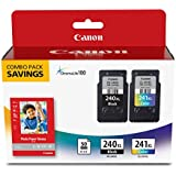Canon Office Products PG-240XL/CL-241XL with Canon GP601 Glossy Photo Paper - Combo Pack Ink
