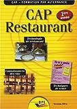 CAP Restaurant 1ère année - élève