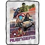 Blanket - Marvel - Avengers Movie Team Panels Fleece New cfb-aum2-panels
