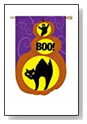 Boo to You LED House Flag