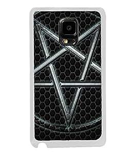 Printvisa Steel 2D Hard Polycarbonate Designer Back Case Cover For Samsung Galaxy Note 4 :: Samsung Galaxy Note 4 N910G :: Samsung Galaxy Note 4 N910F N910K/N910L/N910S N910C N910Fd N910Fq N910H N910G N910U N910W8