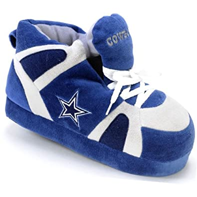 Dallas Cowboys UNISEX High-Top Slippers by Comfy Feet
