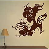 Decal Style Women Swirls Wall Sticker Small Size-16*16 Inch - B00WSNEXB4