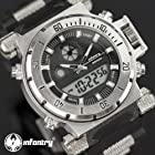 Cool mens watches Chronograph Digital & Analog us army watch Sport Wrist Watch
