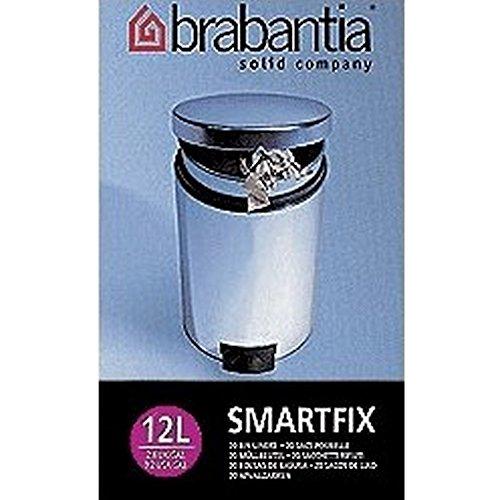 Sacs poubelle Brabantia 12 litres C Couleur Blanc Matière Plastique