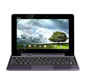 "Asus EeePad Transformer Prime TF201-1B040A Tablette PC 10,1"" (25,65 cm) Nvidia Tegra 3 (Quad-Core) 32 Go RAM 1024 Mo Android V3.2 (Honeycomb)/Android V4.0 Icecream ready Gris"