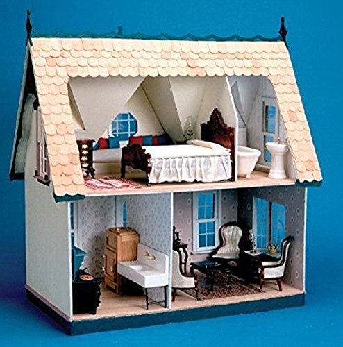 Greenleaf Corona Dollhouse Kit Full house, Orchid, New!!! (Full Doll House compare prices)
