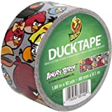 Duck Brand 281512 Angry Birds Printed Duct Tape, 1.88 Inches x 10 Yards, Single Roll