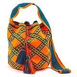 Mehrunnisa Large Mochila Women's Luxury Multicolor Any Time Bag BAG57