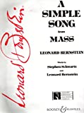 A SIMPLE SONG from MASS (Sheet Music)