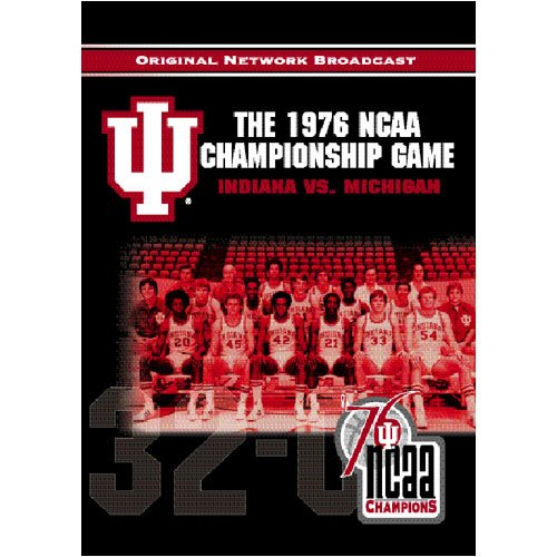 Cover art for  NCAA Championship 1976: Indiana vs. Michigan