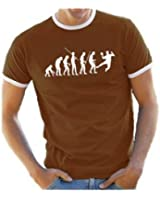 Coole-Fun-T-Shirts T-Shirt Handball evolution RINGER - T-shirt - Homme