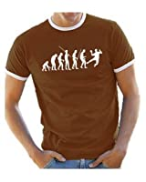Coole-Fun-T-Shirts T-Shirt Handball evolution RINGER - T-shirt - Homme