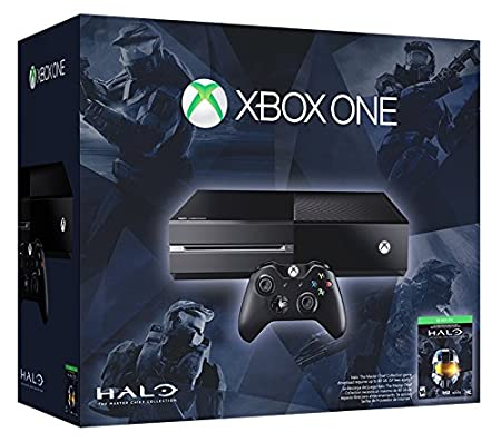 Xbox One 500GB Console -  Halo: The Master Chief Collection Bundle