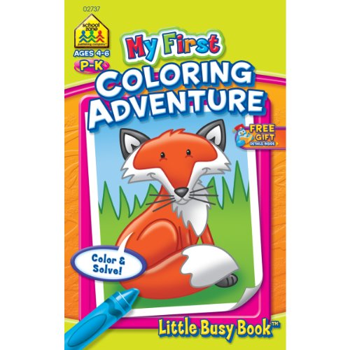 My First Little Busy Book-Coloring Adventure - Grades P-K (Drawing My Little P compare prices)