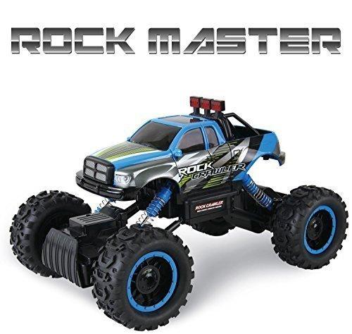 Ferngesteuertes-Auto-fr-Kinder-Rock-Crawler-4x4-RC-Auto-114-Rock-Master-Rock-Crawler-mit-24GHz-Fernsteuerung