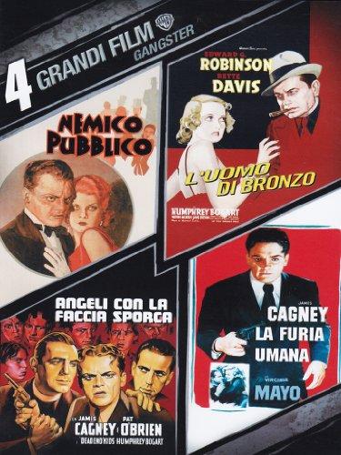 4 grandi film - Gangster - Nemico pubblico + L'uomo di bronzo + Angeli con la faccia sporca + La furia umana