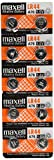 10 pack MAXELL AG13 LR44 357 button cell battery