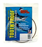 American Fishing Wire Tooth Proof Stainless Steel Single Strand Leader Wire Reviews