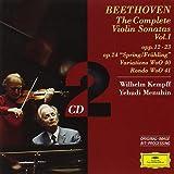 Beethoven: Violin Sonatas, Vol.1