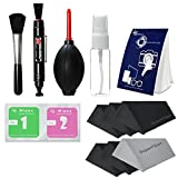 LS Photography Photo Camera Cleaning Brush Kit Cleaning Set for DSLR Cameras - Lens and Sensitive Electronics with (6 PCS.) 6