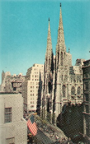 Post Card: St. Patrick's Cathedral, H-436, New York City, Pub. by Herbco Card Co. at Amazon.com